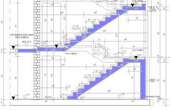 laufplattentreppen gescho treppen aus stahlbeton. Black Bedroom Furniture Sets. Home Design Ideas