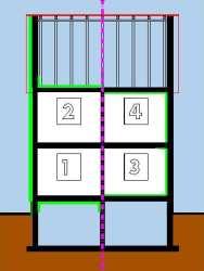 w nde und treppenh user d mmen mit anleitung und. Black Bedroom Furniture Sets. Home Design Ideas