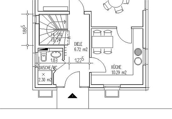 Treppenhaus technische zeichnung  Bauordnung, Normen, Richtlinien und Regeln für den Treppenbau,