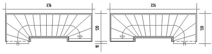 Treppenhaus Grundriss treppenplaner mit 40 grundrissen planungsvorschlä und
