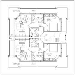 Bauplan ansichten