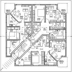 487 grundriss 487 stg grundriss - Mehrfamilienhaus Grundriss Beispiele