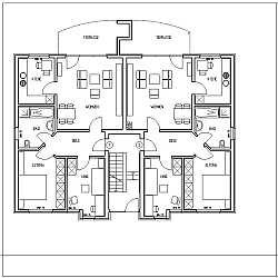 mehrfamilienhaus mit 9 wohneinheiten und tiefgarage. Black Bedroom Furniture Sets. Home Design Ideas