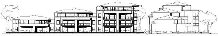 mehrfamilienhaus mit 15 wohneinheiten fahrstuhl penthouse planen und bauen. Black Bedroom Furniture Sets. Home Design Ideas
